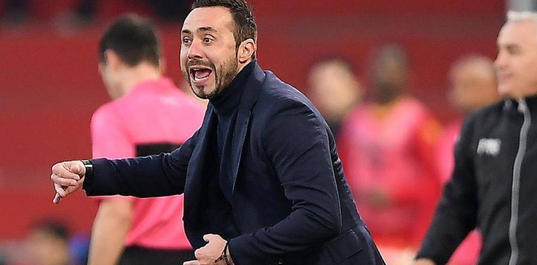 """Benevento, De Zerbi: """"Annata dura, un orgoglio essere qui"""""""