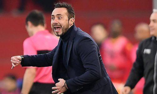 """Sassuolo, De Zerbi a Sky: """"Avremmo potuto vincere"""""""