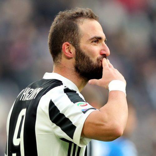 "Juventus, Higuain: ""Aspettavo questa tripletta. Da sabato testa al Tottenham"""