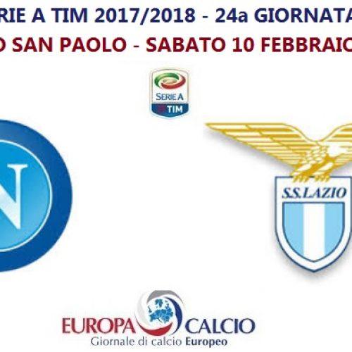 Napoli  – Lazio 4-1: cronaca, tabellino e interviste