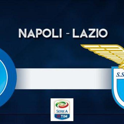 Napoli – Lazio, le probabili formazioni