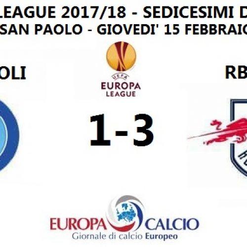 Napoli – RB Lipsia 1-3: cronaca, tabellino e interviste