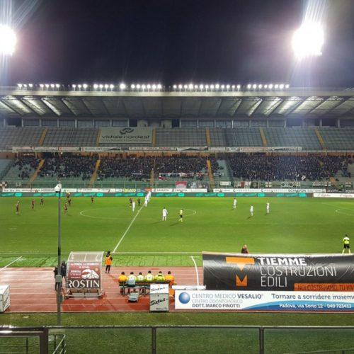 STADIO EC – Padova-Sambenedettese, Miracoli risponde a Capello: finisce 1-1