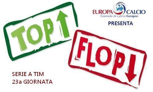 Top – Flop 23a giornata: dalla crisi dell'Inter al Pipita ritrovato