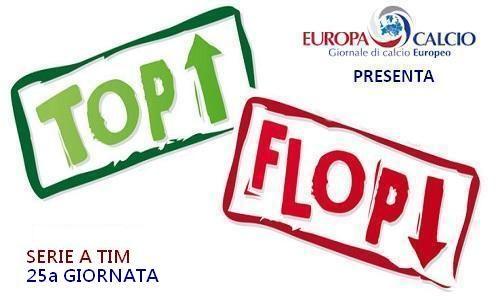 """Top – Flop 25a giornata: dal """"tracollo"""" dell'Inter al """"volo"""" del Napoli"""