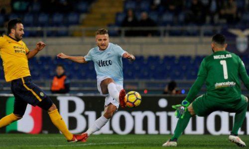 Ruggisce Immobile, ruggisce la Lazio: 2-0 al Verona