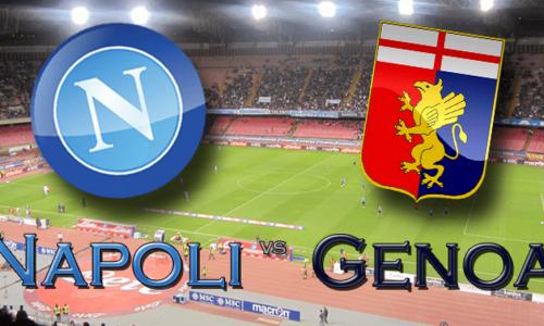 Napoli – Genoa, le formazioni ufficiali