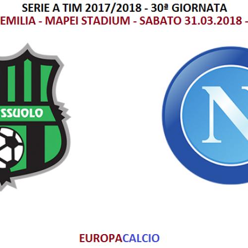 Sassuolo – Napoli 1-1: cronaca, tabellino e interviste