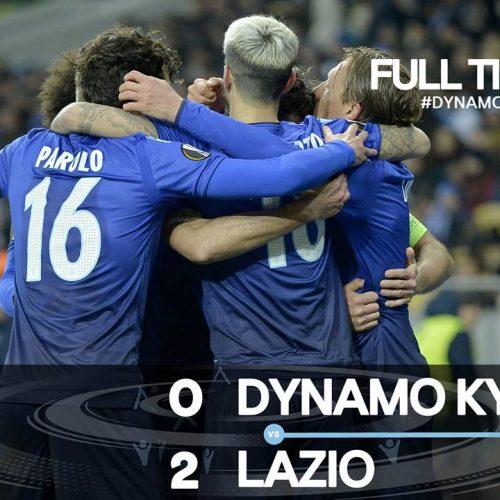 Lazio, impresa ucraina: 2-0 alla Dinamo e quarti conquistati