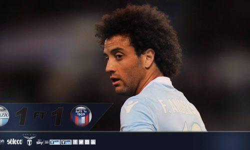 Il Bologna un muro, Lazio stanca e spenta: 1-1 all'Olimpico, Spalletti ringrazia