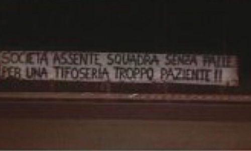 Udinese, la contestazione dei tifosi continua: ecco un nuovo striscione