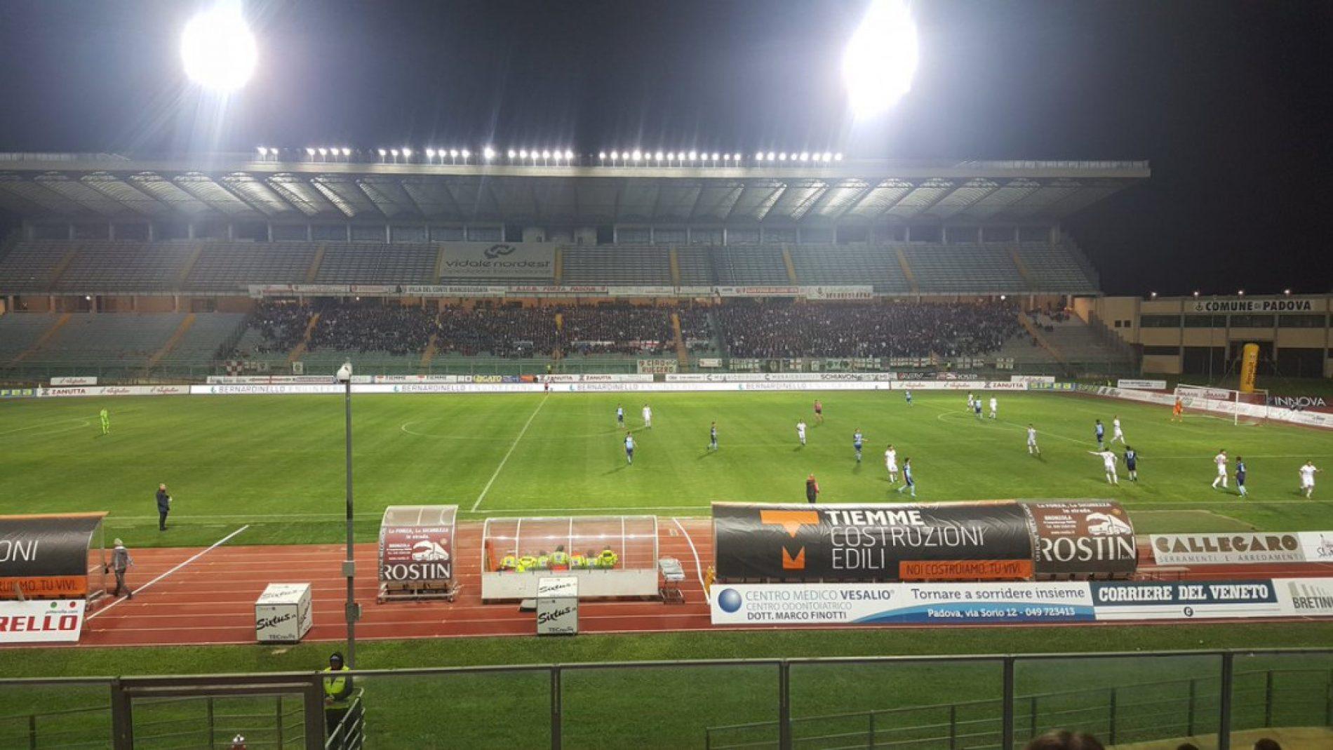 STADIO EC – Padova e Albinoleffe non si fanno male: finisce 1-1