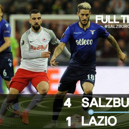 Europa League, disastro Lazio: Salisburgo in semifinale