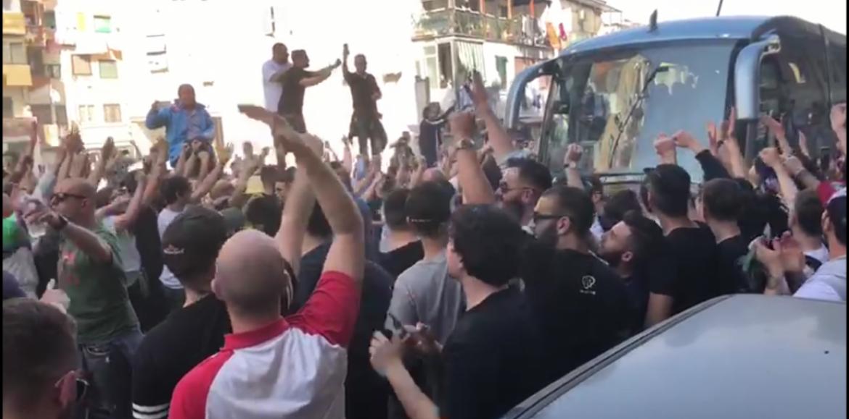 Napoli: sale la tensione per la sfida scudetto alla Juventus