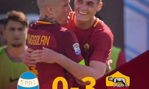 La Roma trionfa a Ferrara: Spal battuta 0-3