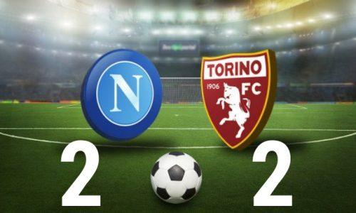 Napoli – Torino 2-2: cronaca, tabellino e interviste
