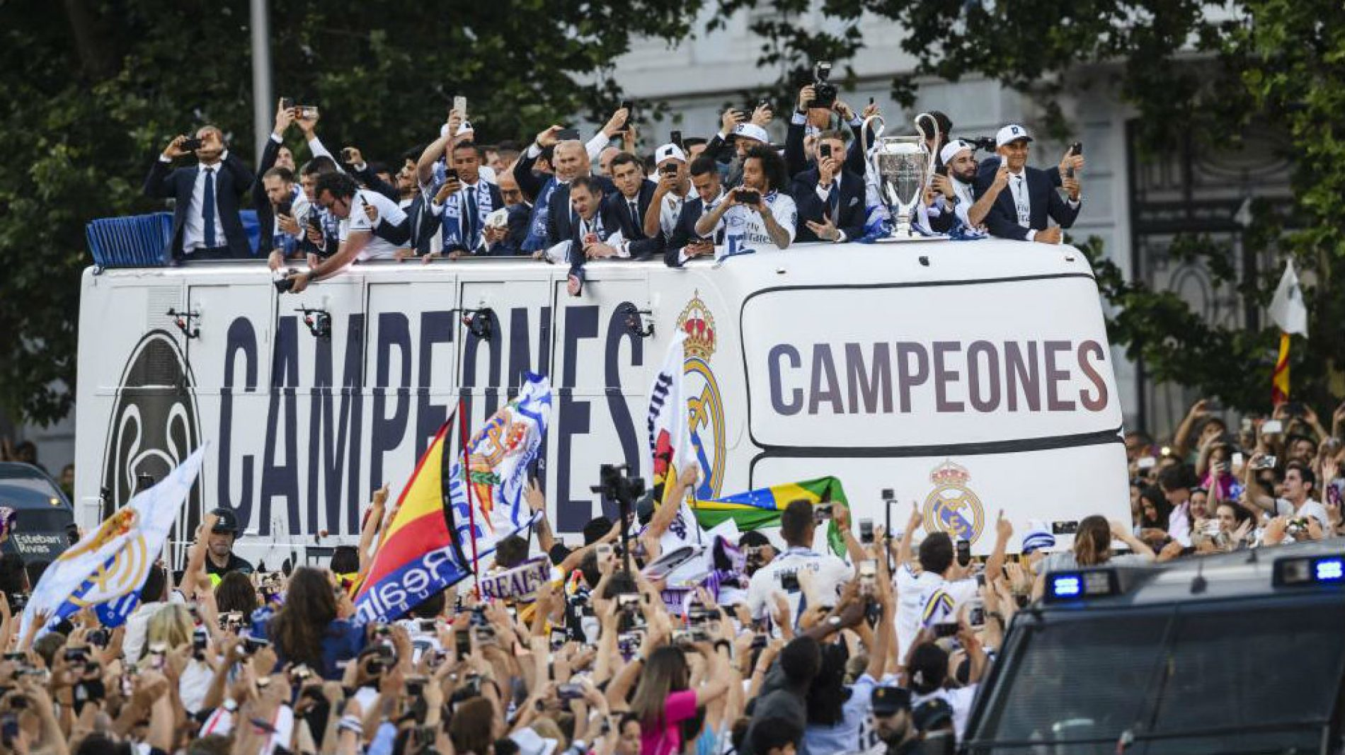 """Real Madrid, così sarà la festa di celebrazione della """" Decimotercera """""""