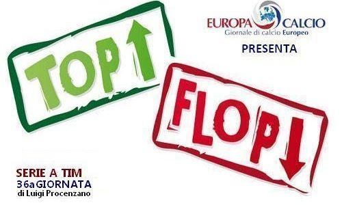 Top-Flop 36a giornata