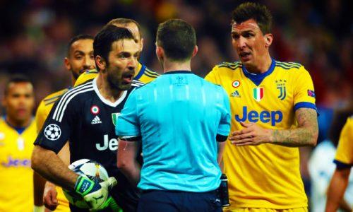 Buffon, l'UEFA ha deciso: tre turni di stop per il portiere