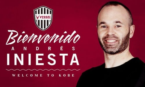 UFFICIALE: Iniesta è un giocatore del Vissel Kobe