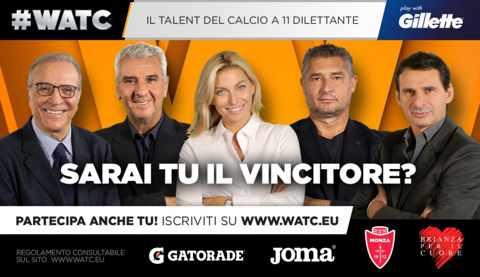 Parte #Watc, il Talent per i dilettanti  che sognano il calcio professionistico
