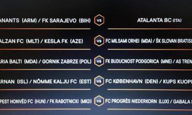 Sorteggio Europa League, ecco l'avversaria dell'Atalanta