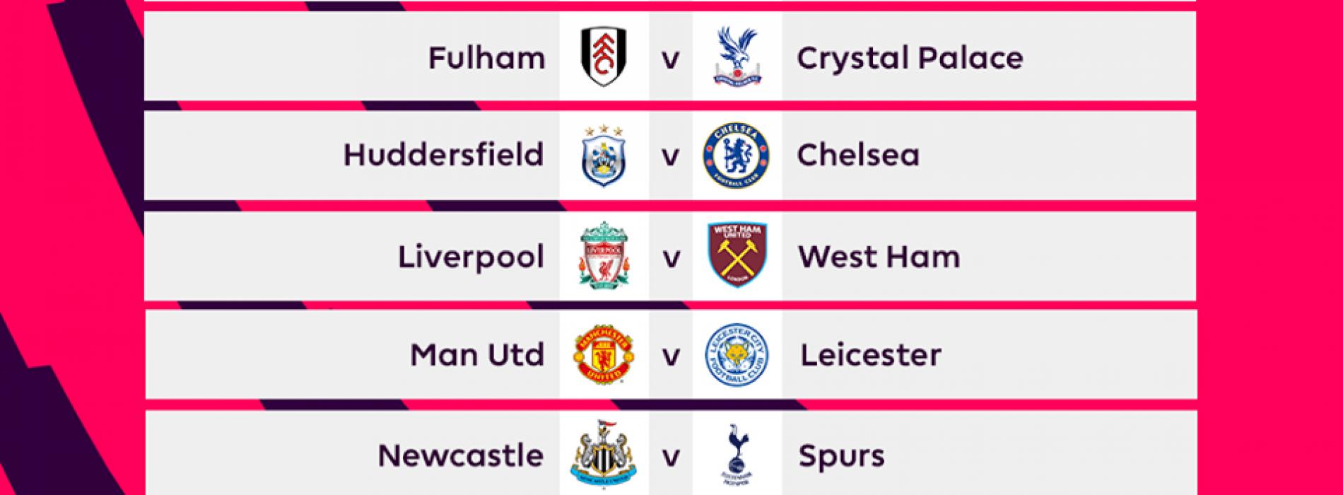 Premier League Calendario.Calendario Premier League 2018 19