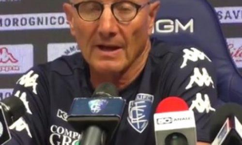 """Empoli, Andreazzoli pre Inter: """"Andiamo a fare e giocare qualcosa di importante senza ansie"""""""