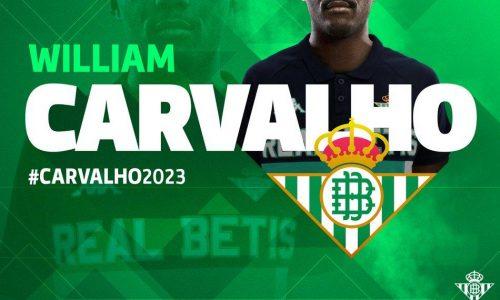 UFFICIALE: William Carvalho al Betis