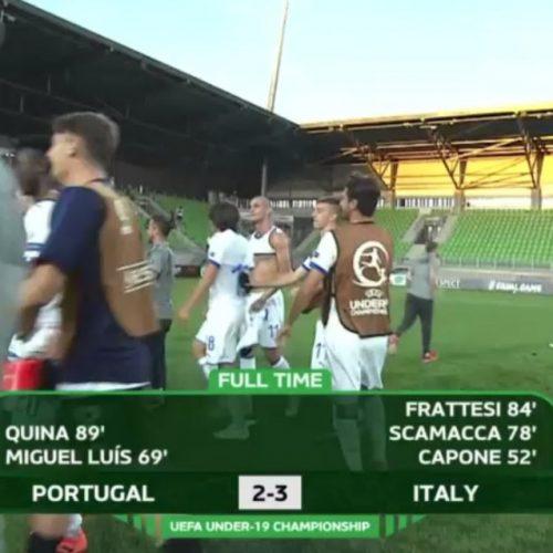 Euro Under19, Portogallo-Italia 2-3: semifinali a un passo