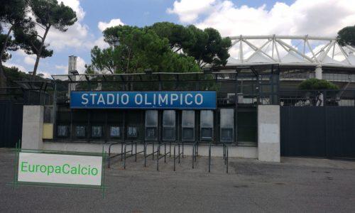Lazio – Napoli arrivano i palchi lanciacori