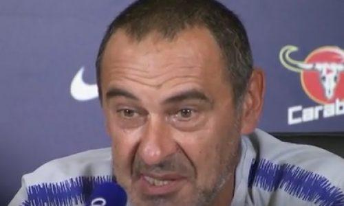 """Chelsea, Sarri: """"Mercato? Mi piace lavorare con i giovani, ora l'Europa League. Resto, meritiamo un trofeo"""""""