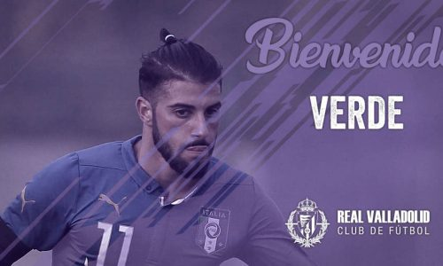 Roma, Verde si trasferisce al Valladolid