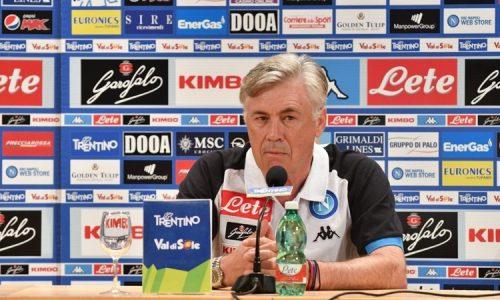 """Napoli, Ancelotti: """"Prima penso alla Fiorentina, poi vediamo. Milik e Mertens stanchi dopo le nazionali"""""""