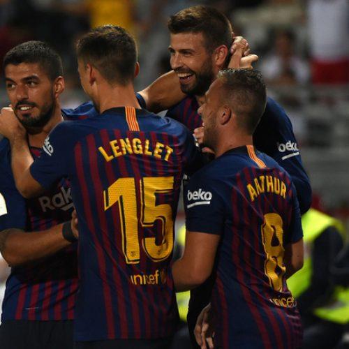 Liga: Crisi infinita per il Real Madrid, Barcellona solo in vetta ma Messi va KO