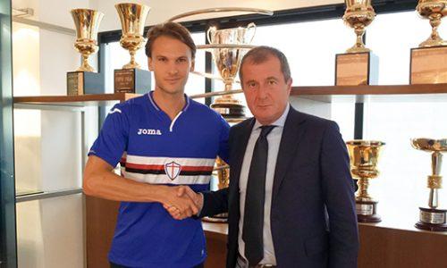 Sampdoria Ekdal rinnovo del contratto fino al 2022: il comunicato