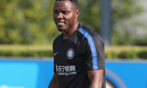 """Inter, Asamoah: """"Ritorno ad Udine, non sarà facile. Aspetto il gol entro fine stagione, per il futuro…"""""""