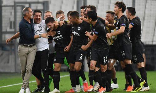 Bundesliga, Francoforte esagerato: 7 reti al Dusseldorf con Jovic superstar