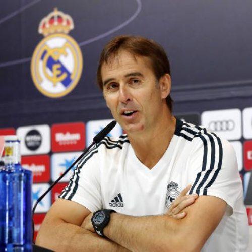 """Real Madrid, Lopetegui: """" Continuerò a respirare anche dopo questo Clasico """""""