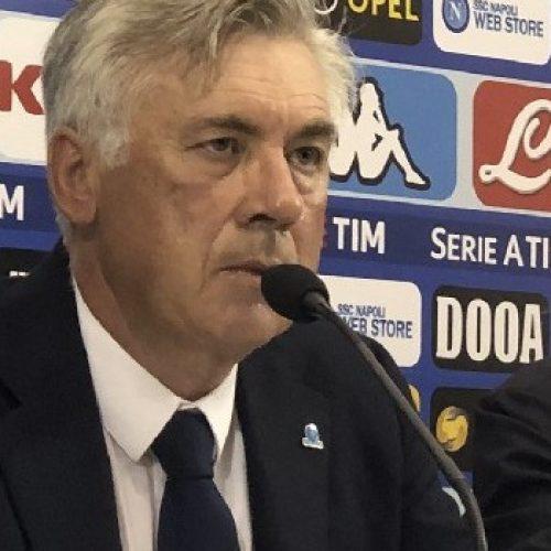 """Lecce Napoli 1-4, Ancelotti:""""squadra ancelottiana?"""""""
