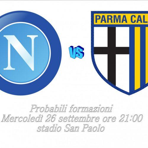 Napoli – Parma, le probabili formazioni