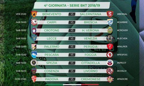 Serie B – 4^ giornata: nel caos si riparte col derby campano