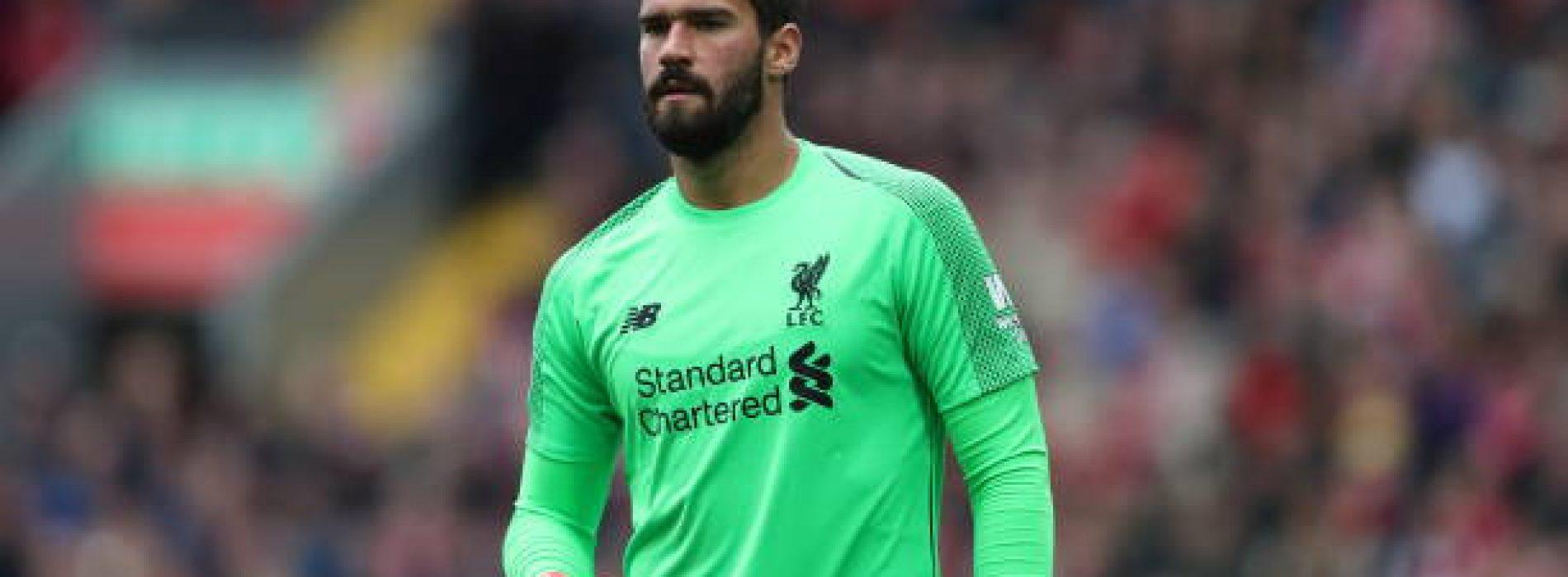 Liverpool, Alisson out almeno qualche settimana: Klopp conferma