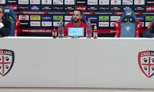 """Pavoletti: """"Contento dell'esordio in Nazionale, lavorato molto su me stesso. A Cagliari sto bene"""""""