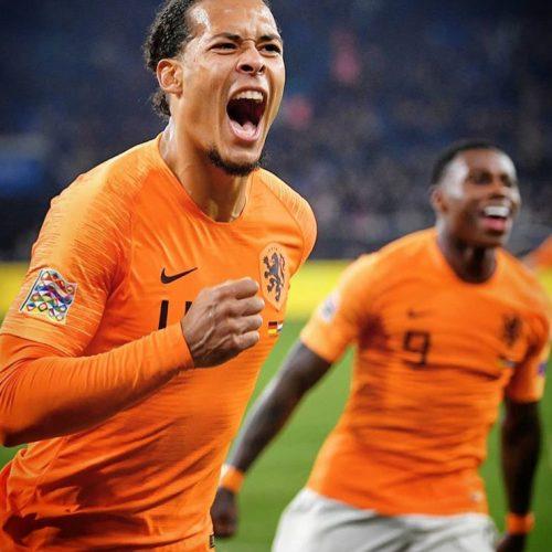 Van Dijk fa impazzire l'Olanda: 2-2 a Gelsenkirchen e Orange alle Final Four di Nations League