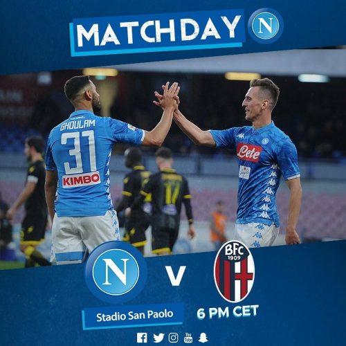 Serie A, Napoli – Bologna [LIVE]