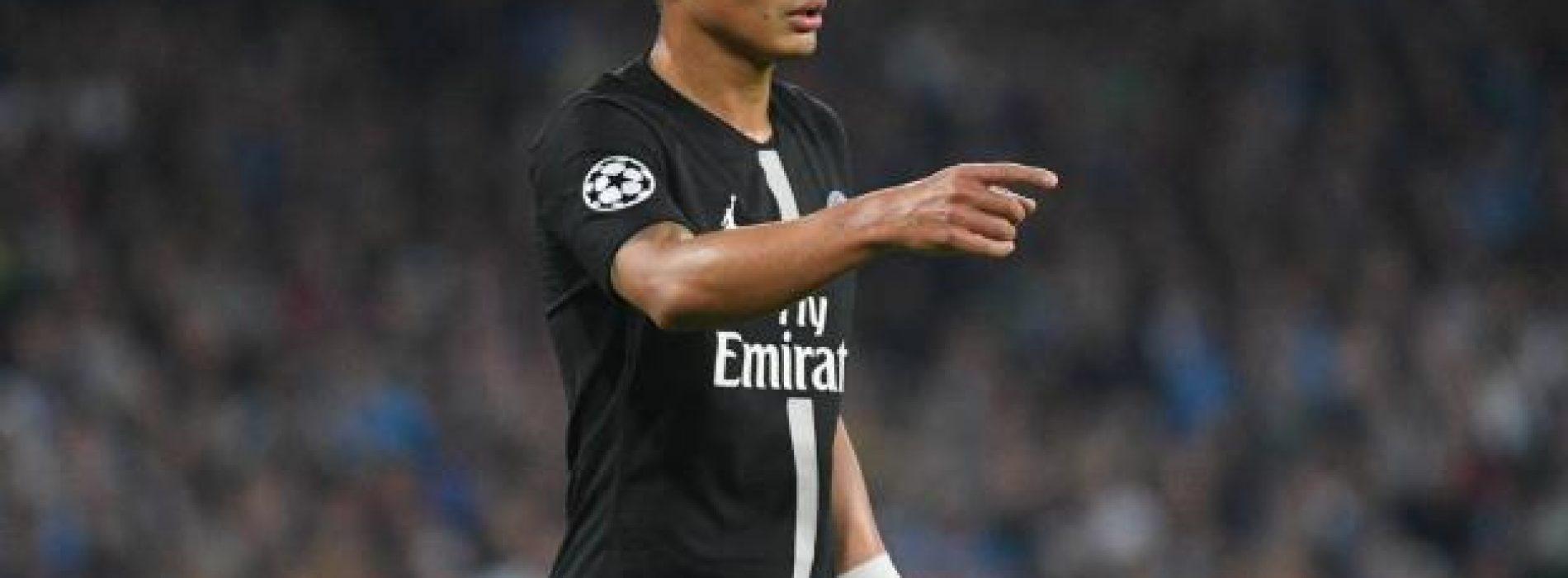 """PSG Neymar Thiago Silva: """"Ci aiuterà a vincere la Champions"""""""