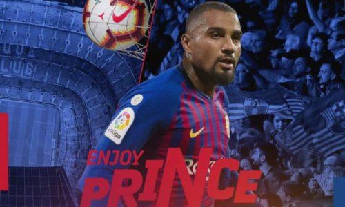 Sassuolo, a fine stagione torna Boateng: il Barça non lo riscatterà