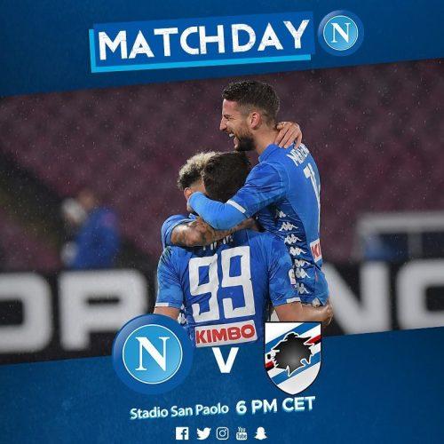 Napoli – Sampdoria [LIVE]