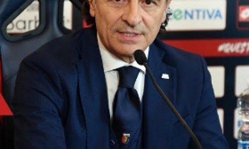 """Genoa, Prandelli:""""Perso la fiducia, domani tiferò Sampdoria"""""""